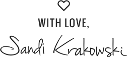 With Love Sandi Krakowski Business Consultant and Trainer | A Real Change
